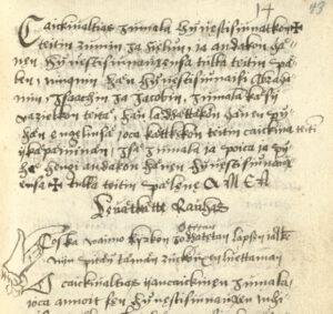 Helsinki, National Library, C.III.19. Codex Westh, 43r/93; www.codicesfennici.fi.